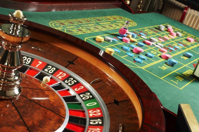roulettebord med hjul